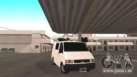 Renault Trafic für GTA San Andreas Rückansicht