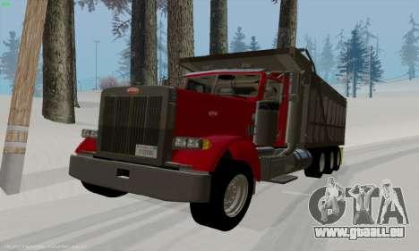 Peterbilt 379 Dump Truck pour GTA San Andreas