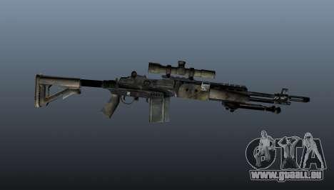 Fusil de sniper M21 Mk14 v4 pour GTA 4 troisième écran