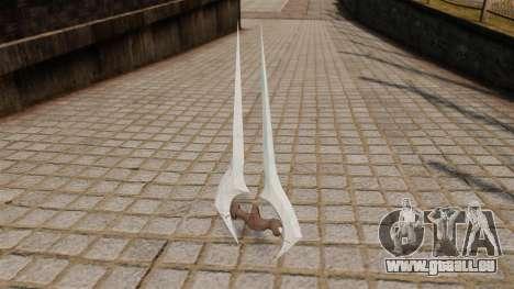 Épée Halo d'énergie pour GTA 4 secondes d'écran