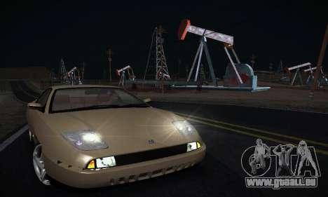 Fiat Coupe pour GTA San Andreas vue arrière