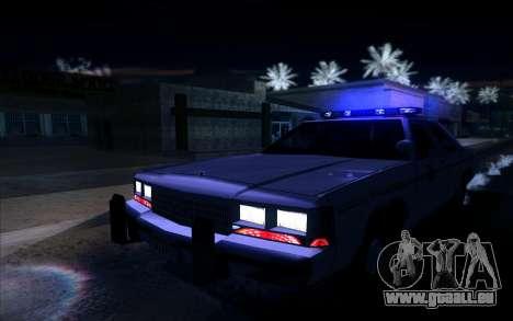 Police North Yankton für GTA San Andreas Rückansicht