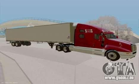 Kenworth T2000 v2.9 pour GTA San Andreas laissé vue