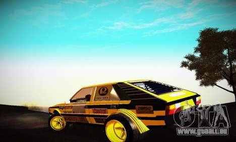 FSO Polonez 2500 Racing 1978 pour GTA San Andreas sur la vue arrière gauche