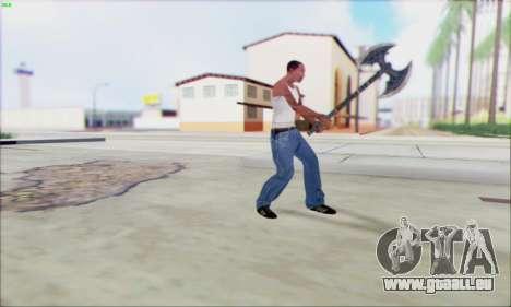 Forge de la hache pour GTA San Andreas troisième écran