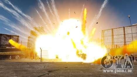 Nouveaux effets de l'explosion et l'incendie pour GTA 4