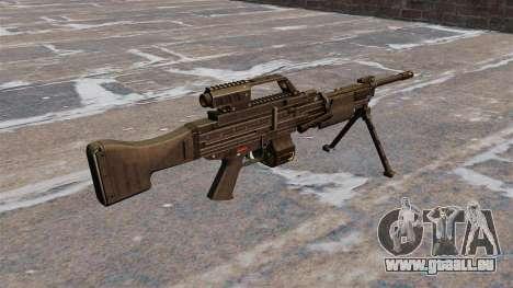 Mitrailleuse légère de HK MG4 pour GTA 4 secondes d'écran