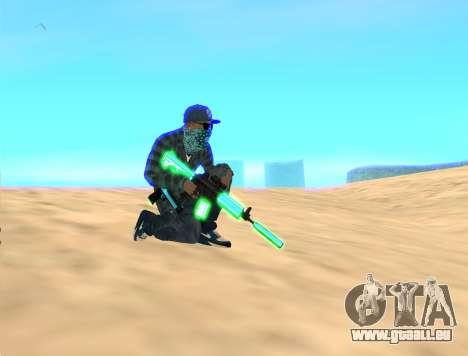 Rifa Gun Pack pour GTA San Andreas troisième écran