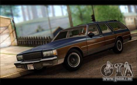 Chevrolet Caprice 1989 Station Wagon für GTA San Andreas