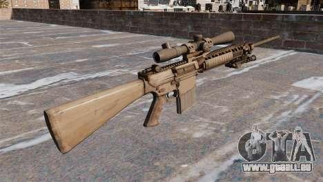 Le fusil de sniper M110 pour GTA 4 secondes d'écran