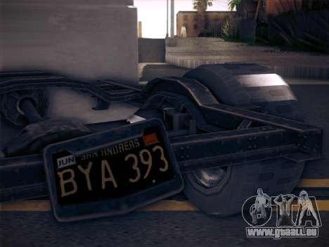 Rat Loader from GTA V pour GTA San Andreas sur la vue arrière gauche