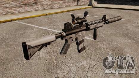 M4 carabine avec silencieux v2 pour GTA 4 secondes d'écran