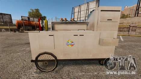 Nouvelles textures de charrettes de Hot-Dog pour GTA 4 septième écran