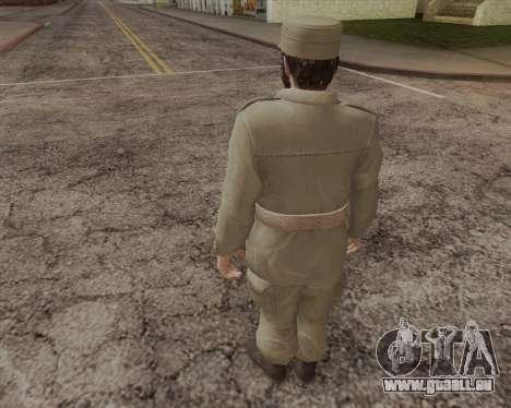 Fidel Castro pour GTA San Andreas deuxième écran