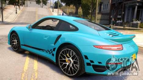 Porsche 911 Turbo 2014 [EPM] pour GTA 4 est une gauche