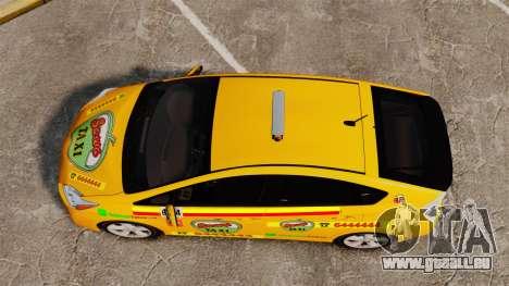 Toyota Prius 2011 Warsaw Taxi v1 für GTA 4 rechte Ansicht