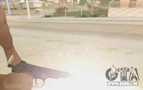 Beretta M9 v2 pour GTA San Andreas deuxième écran