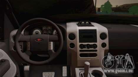 Saleen S331 Supercab 2008 für GTA San Andreas Rückansicht