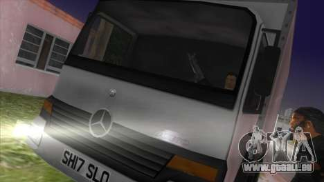 Mercedes Benz Atego für GTA Vice City linke Ansicht