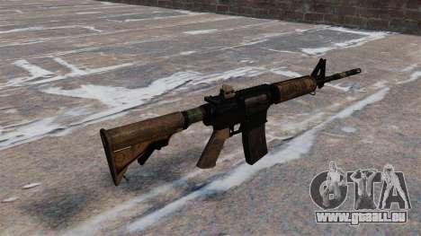 Automatique M4 carbine pour GTA 4 secondes d'écran