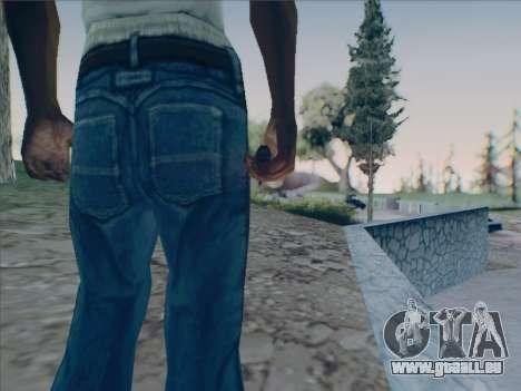 Battlefield 2142 Knife für GTA San Andreas dritten Screenshot