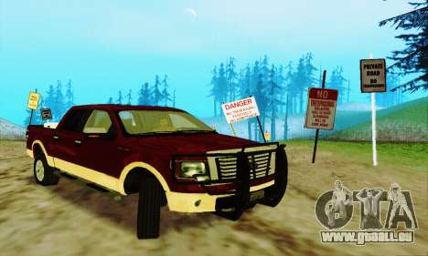 Ford F-150 KING RANCH Edition 2010 pour GTA San Andreas