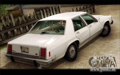 Ford LTD Crown Victoria 1987 für GTA San Andreas linke Ansicht