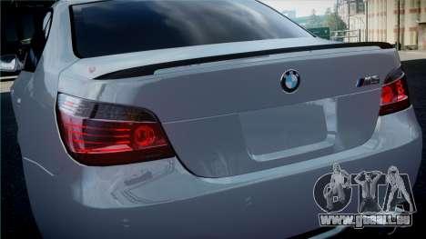 BMW M5 E60 für GTA 4 rechte Ansicht