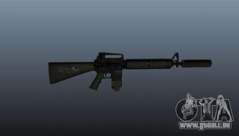Das M16A4 Sturmgewehr für GTA 4 dritte Screenshot