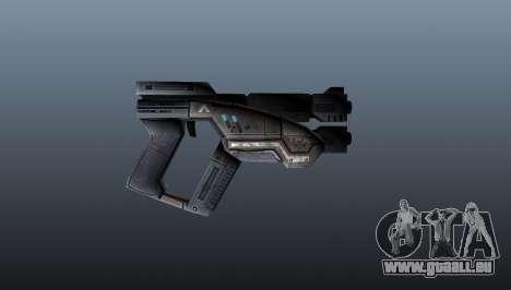 Pistolet M3 Predator pour GTA 4 troisième écran