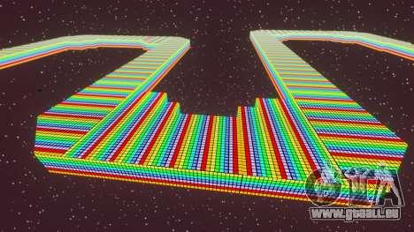 Route arc-en-ciel pour GTA 4 troisième écran