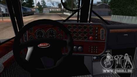 Peterbilt 379 Papa Clyde pour GTA San Andreas vue de droite