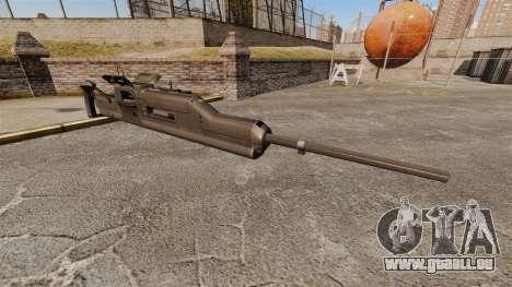 Maxim-Maschinengewehr XM312 für GTA 4