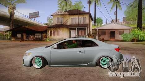 Kia Cerato pour GTA San Andreas laissé vue