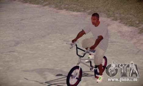 Franklin HD pour GTA San Andreas deuxième écran