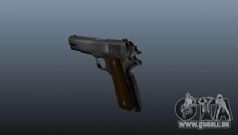 Colt M1911 pistolet pour GTA 4 secondes d'écran