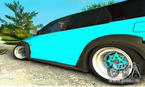 Mitsubishi Evo IX Wagon S-Tuning pour GTA San Andreas sur la vue arrière gauche