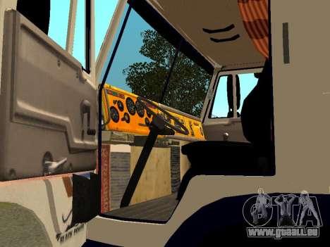 KAMAZ 5410 für GTA San Andreas Rückansicht