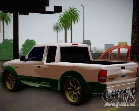Ford Ranger 2005 pour GTA San Andreas laissé vue