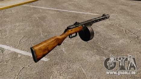 Špagina Maschinenpistole, 1941 für GTA 4 Sekunden Bildschirm