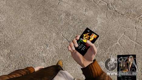 Thème pour téléphone feu et flamme pour GTA 4