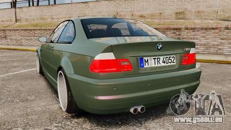 BMW M3 E46 für GTA 4 hinten links Ansicht