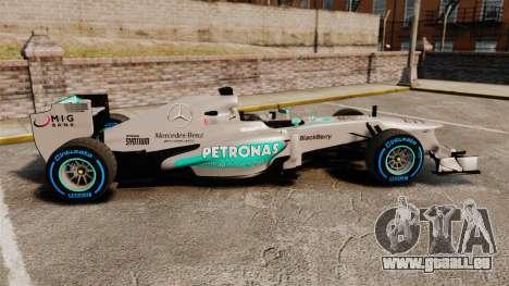 Mercedes AMG F1 W04 v2 pour GTA 4 est une gauche