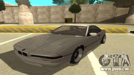 BMW 850CSi 1996 Stock version pour GTA San Andreas