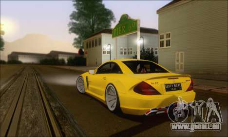 Mercedes-Benz SL65 AMG GB für GTA San Andreas Rückansicht