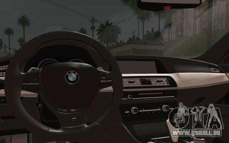 BMW M5 F10 v1 pour GTA San Andreas vue de droite