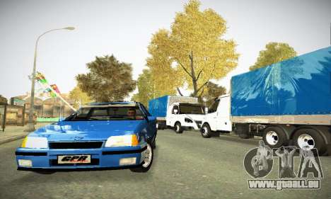 Chevrolet Kadett GS 2.0 pour GTA San Andreas vue arrière