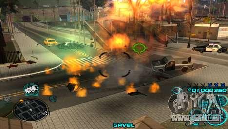 C-HUD Candy Project pour GTA San Andreas quatrième écran