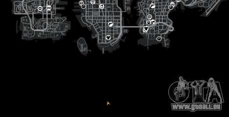Route arc-en-ciel pour GTA 4 cinquième écran