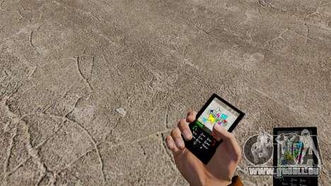 Schmetterling-Design für Ihr Handy für GTA 4